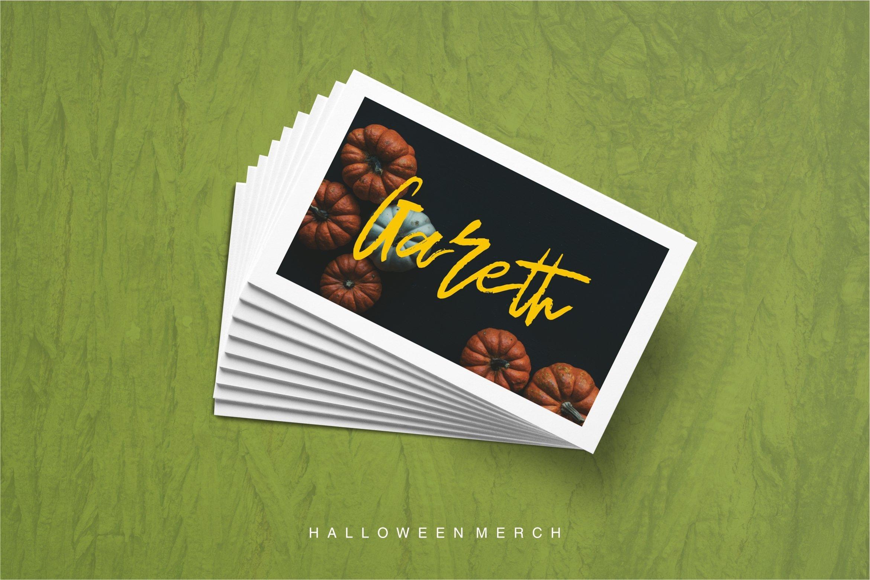 Mutant - Brush Font example image 4