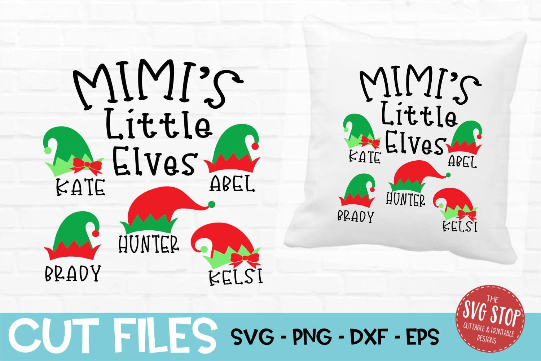 Svg Mimi Shirt Sublimation Christmas Svg Mimi Gift Family Svg Dxf Iron-On Download Mimi Svg Elf Svg Cricut Svg Mimi Elf Svg Png