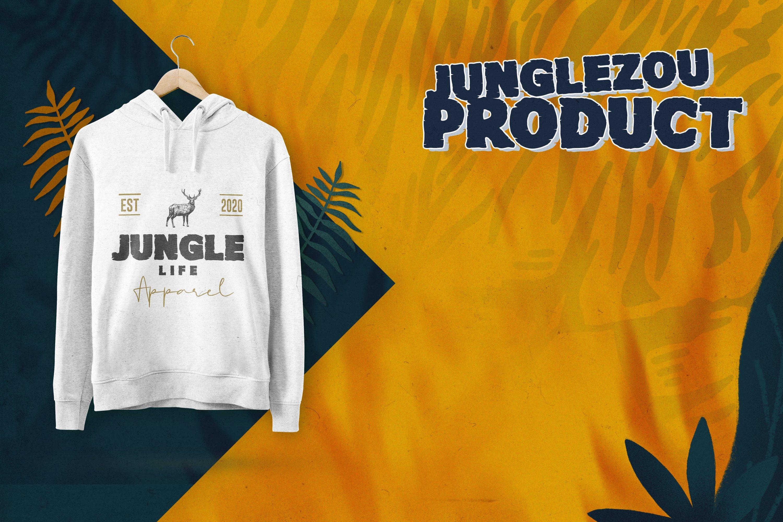 Junglezou Typeface example image 4