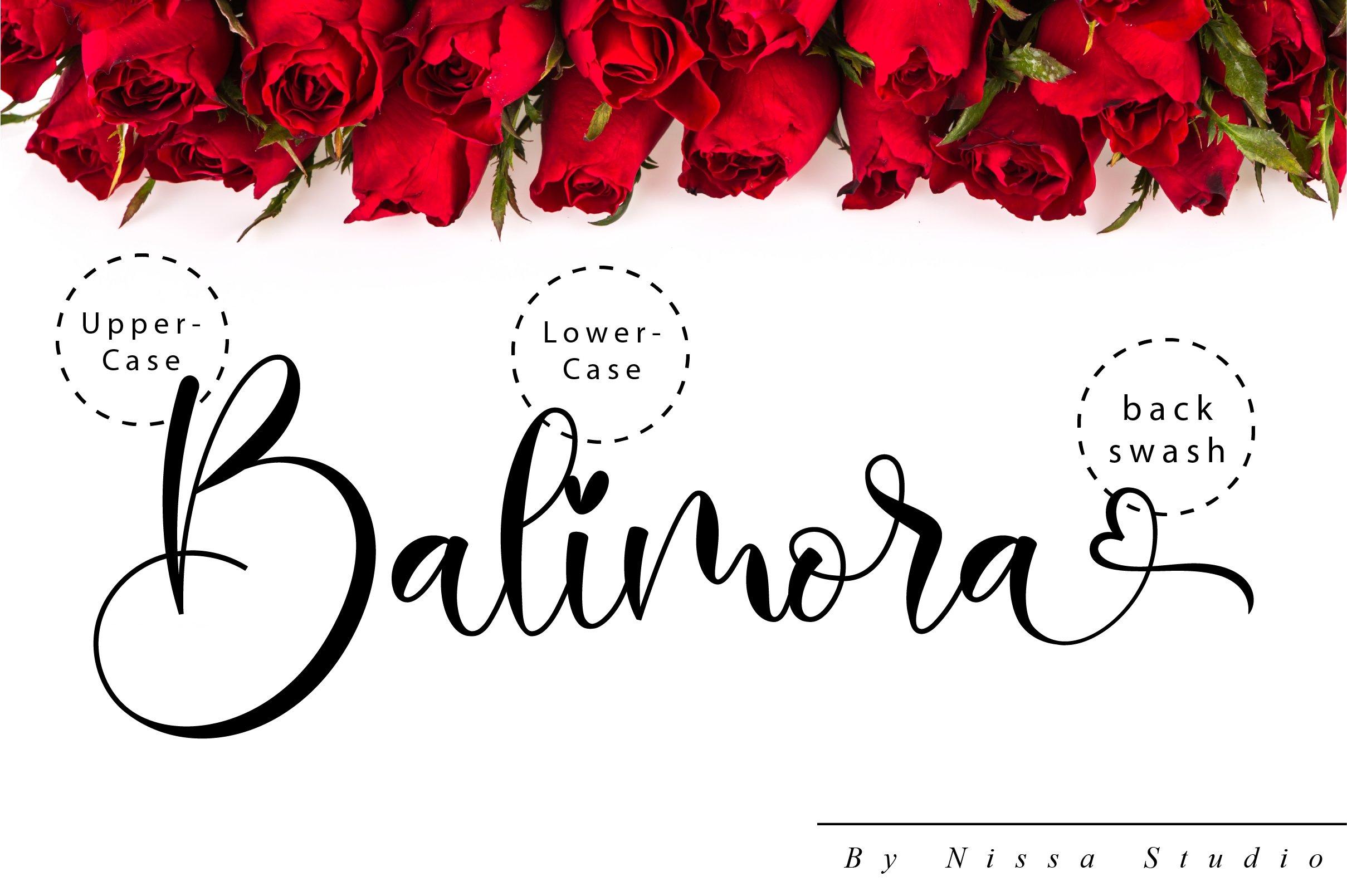 Balimora Script example image 10
