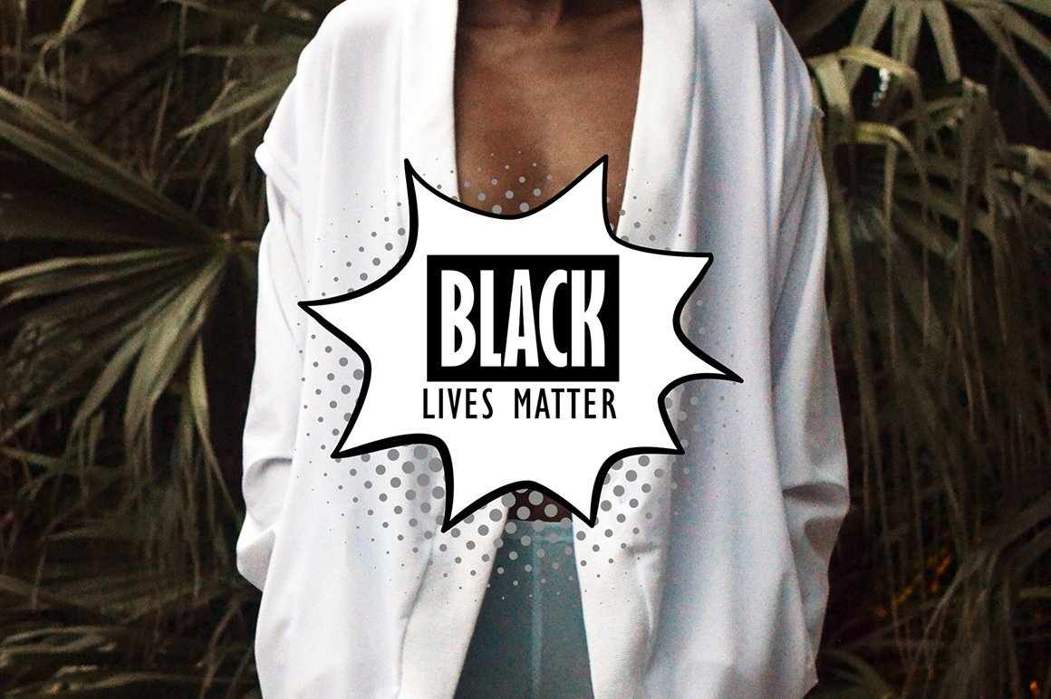 Black lives matter |Silence is violence example image 3