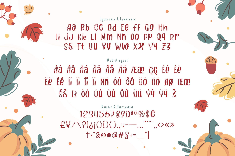 Lestari Display Font example image 2