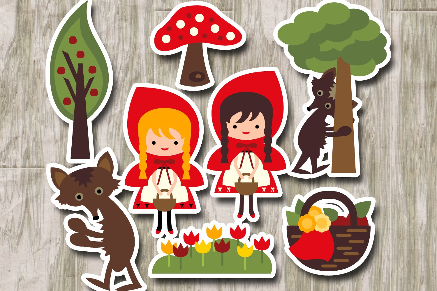 Little Red Riding Hood (Graphic) by Keepinitkawaiidesign