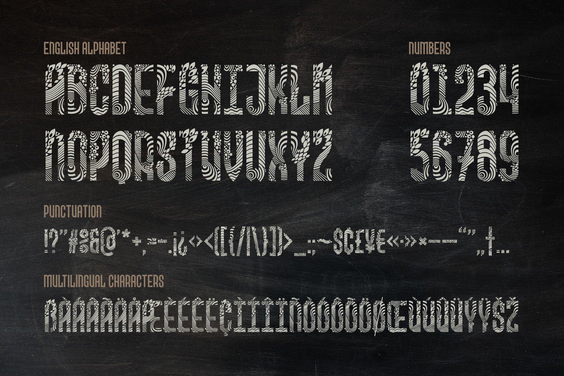 Kaipara Font example image 6