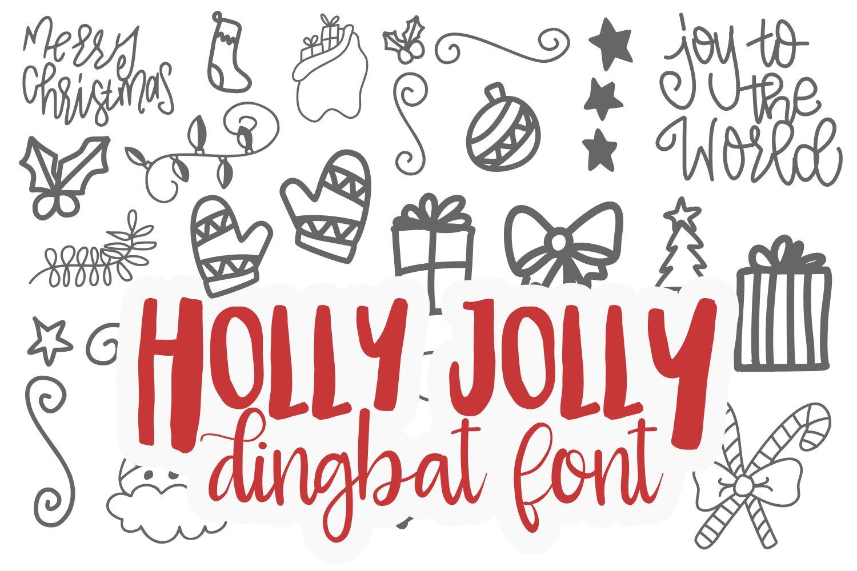 20 Christmas Fonts - A Christmas Font Bundle! example image 17