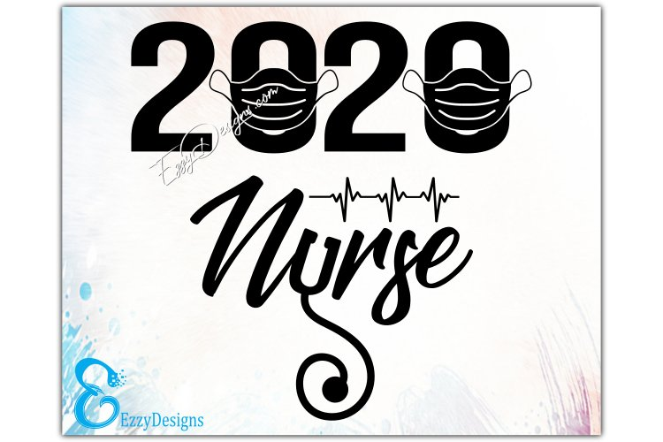Nurse svg, Nurse 2020 SVG, nurse svg files, nurse life svg example image 2