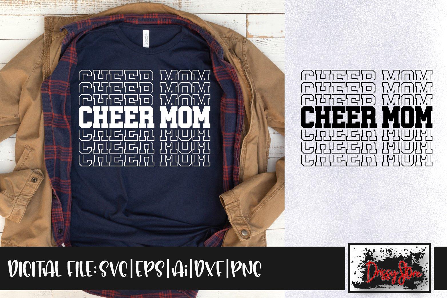Cheer Mom Svg Dxf Ai Eps Png 920975 Cut Files Design Bundles
