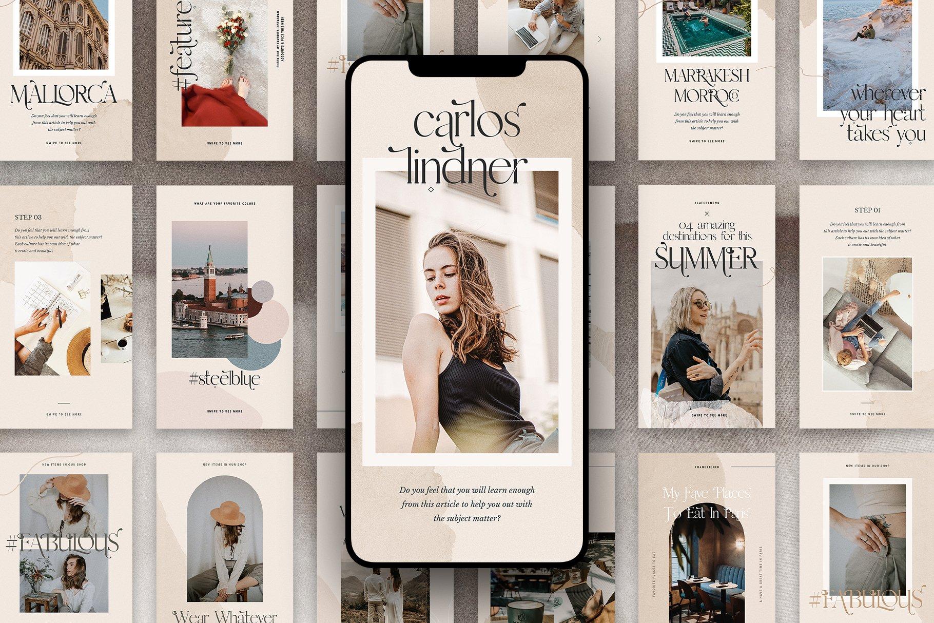 #InstaFlow Carousel Posts & Stories example image 18