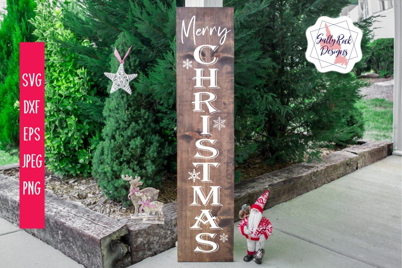 Merry Christmas Vertical Svg Christmas Svg Digital Download 950719 Cut Files Design Bundles