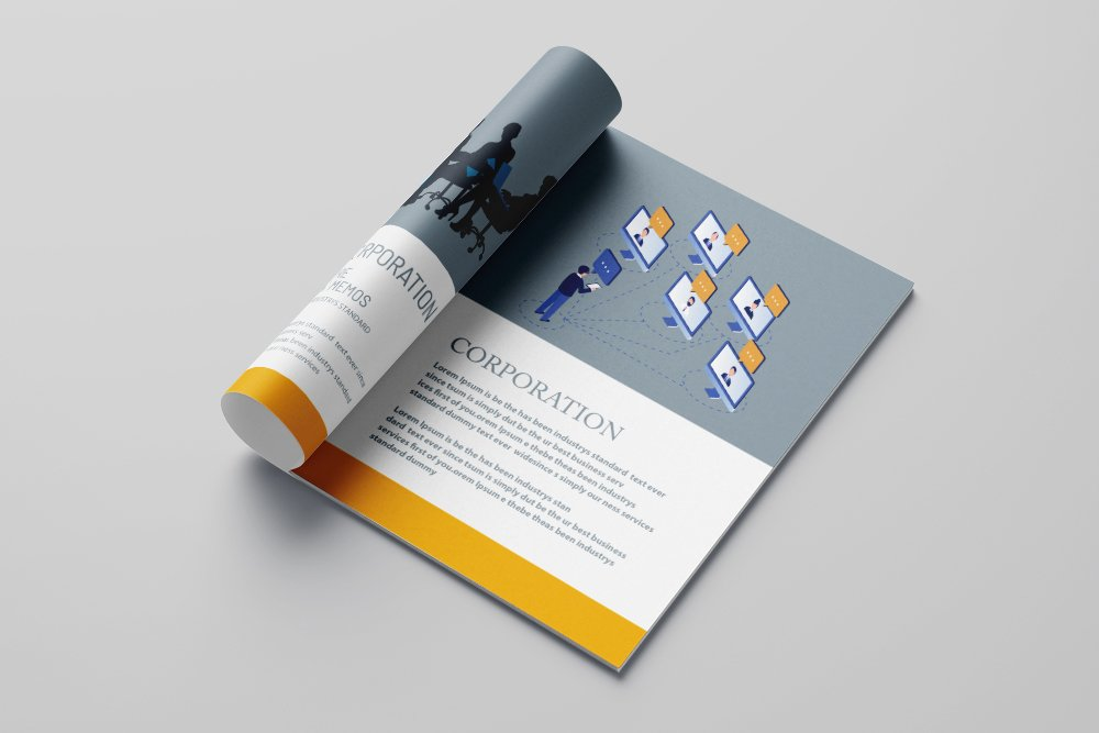 Business Annual Report Brochure 16 Pages example image 6