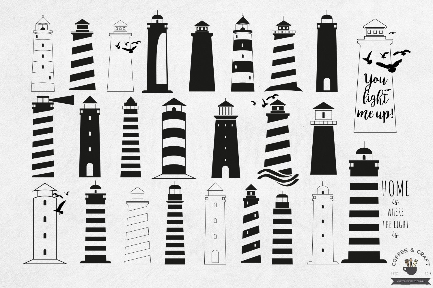 Lighthouse SVG example image 2
