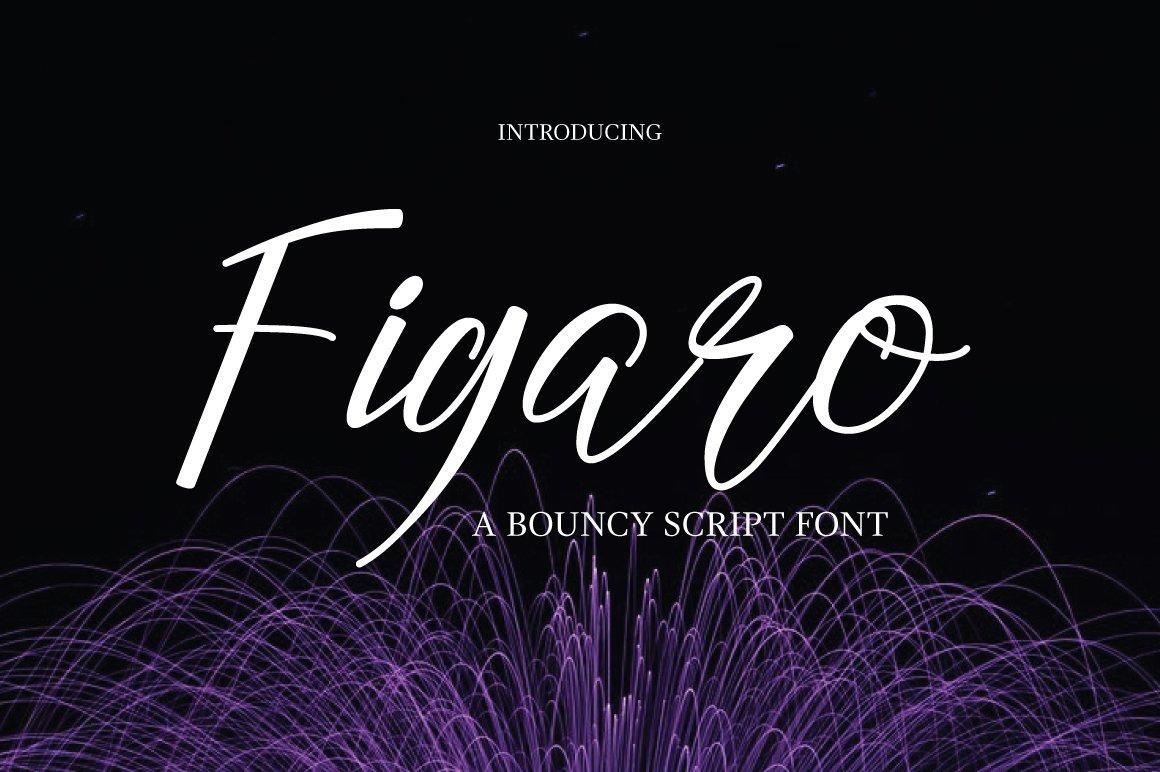 Figaro Font example image 1