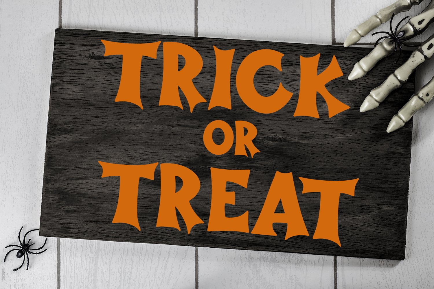 Haunted Halloween - A Spooky Hand-Lettered Font example image 4