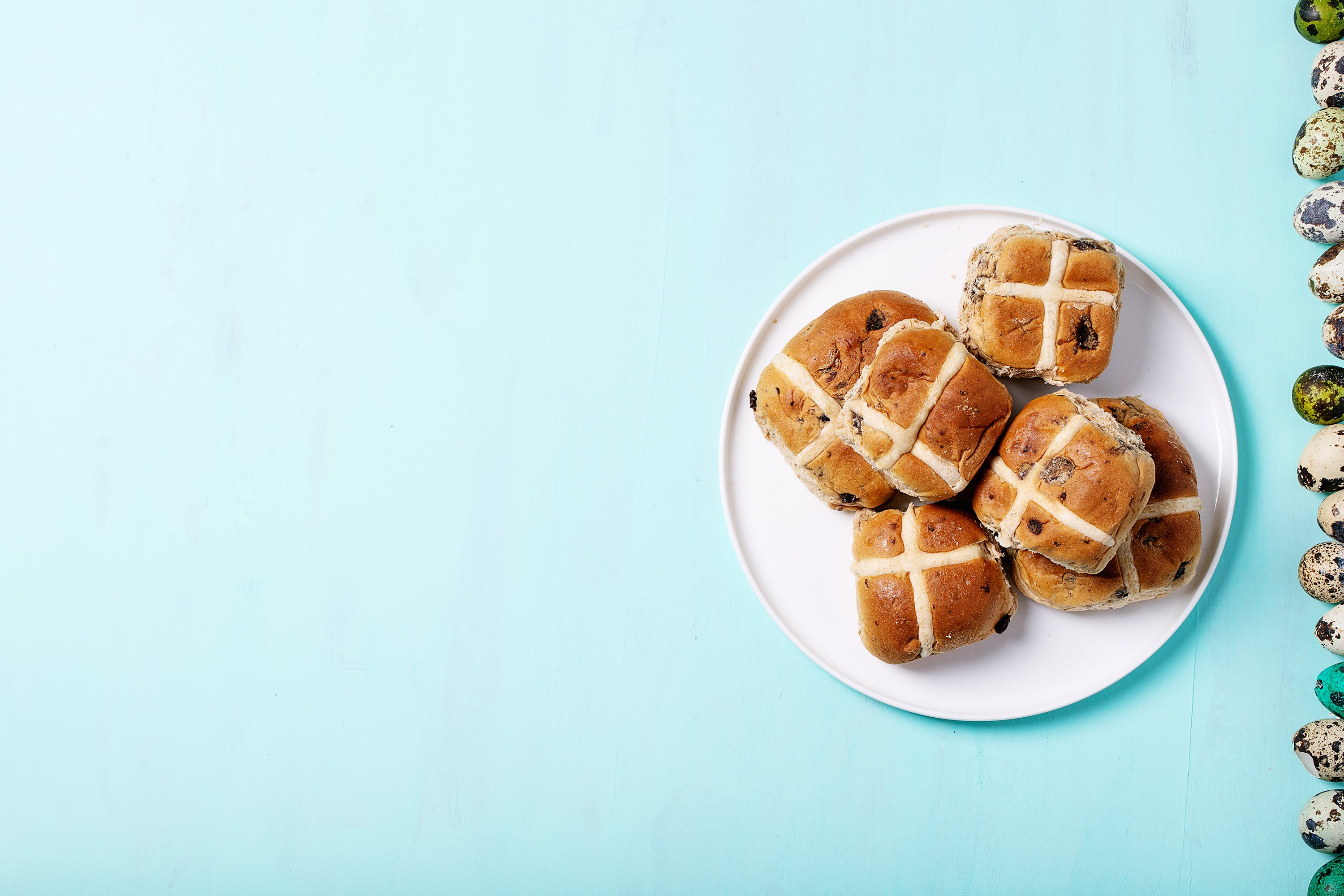 Traditional Easter treats cross buns example image 1