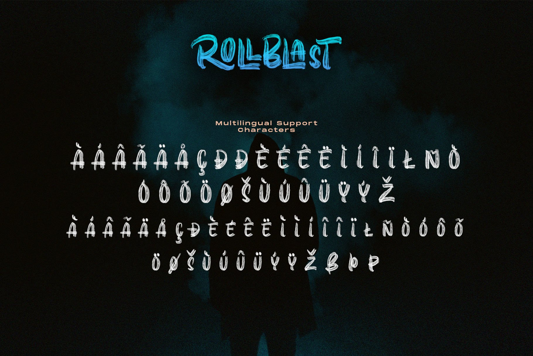 ROLLBLAST - DISPLAY FONT example image 10