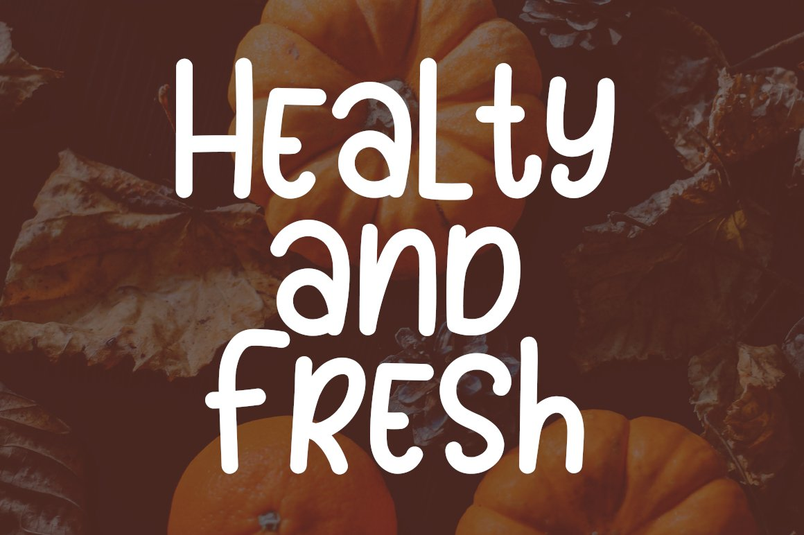 Sunday Pumpkins - Playful Font example image 2