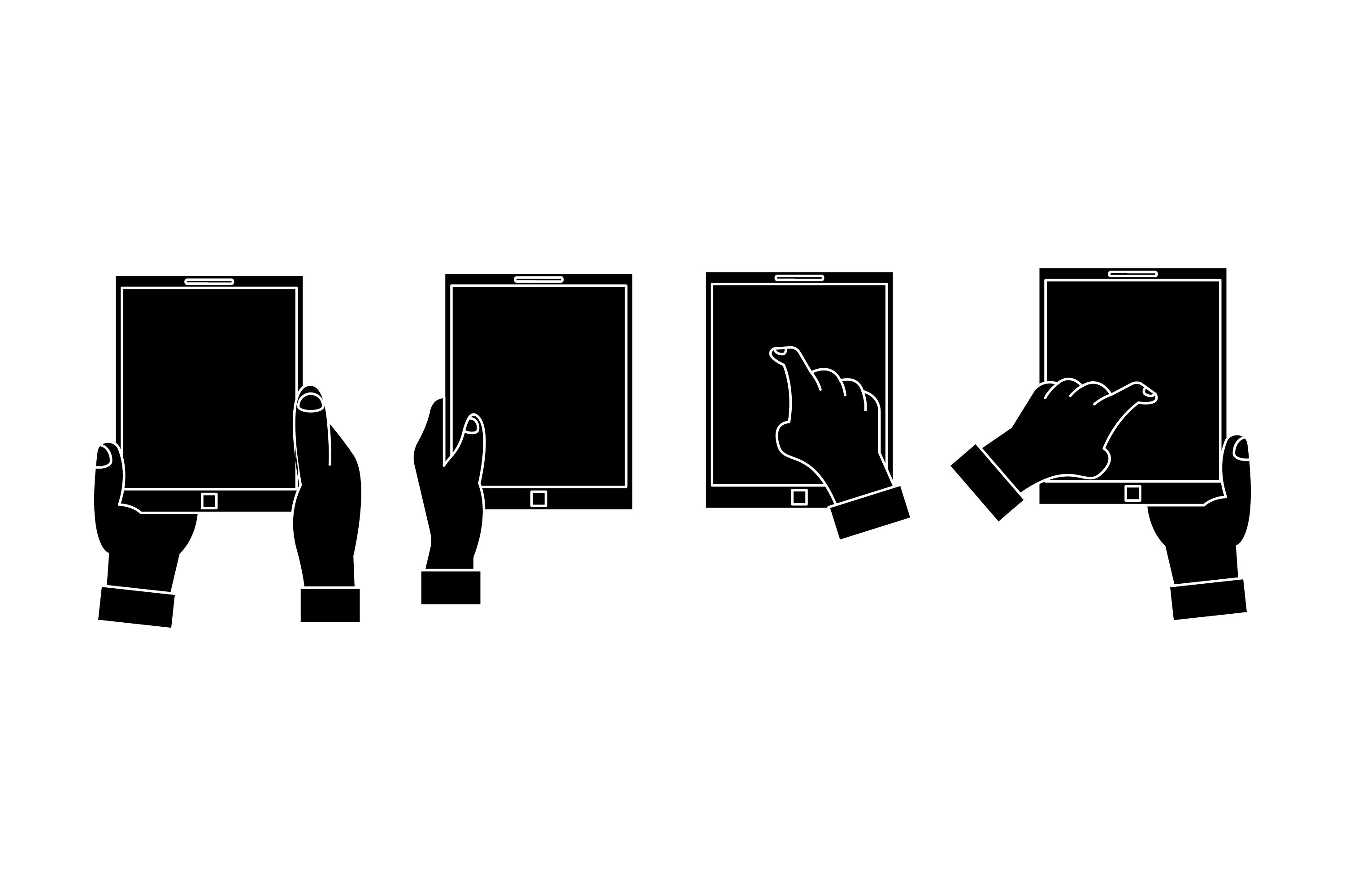 Mobile Phone Silhouettes example image 1