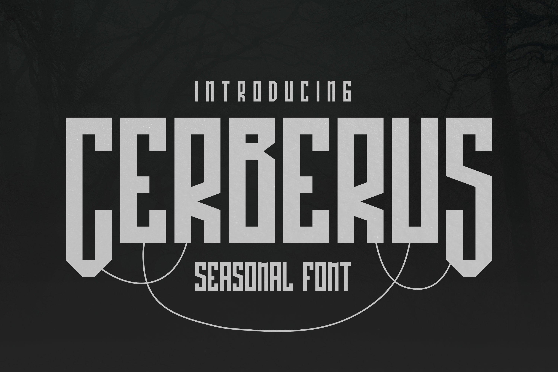 Cerberus Font example image 1