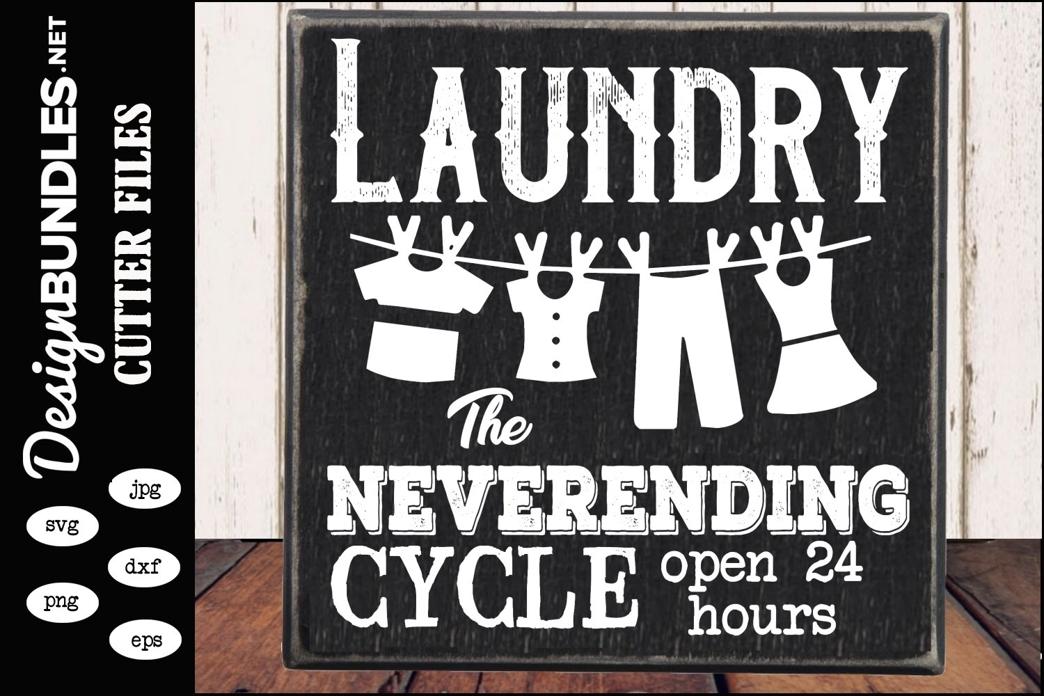 Laundry The Never Ending Cycle SVG example image 1