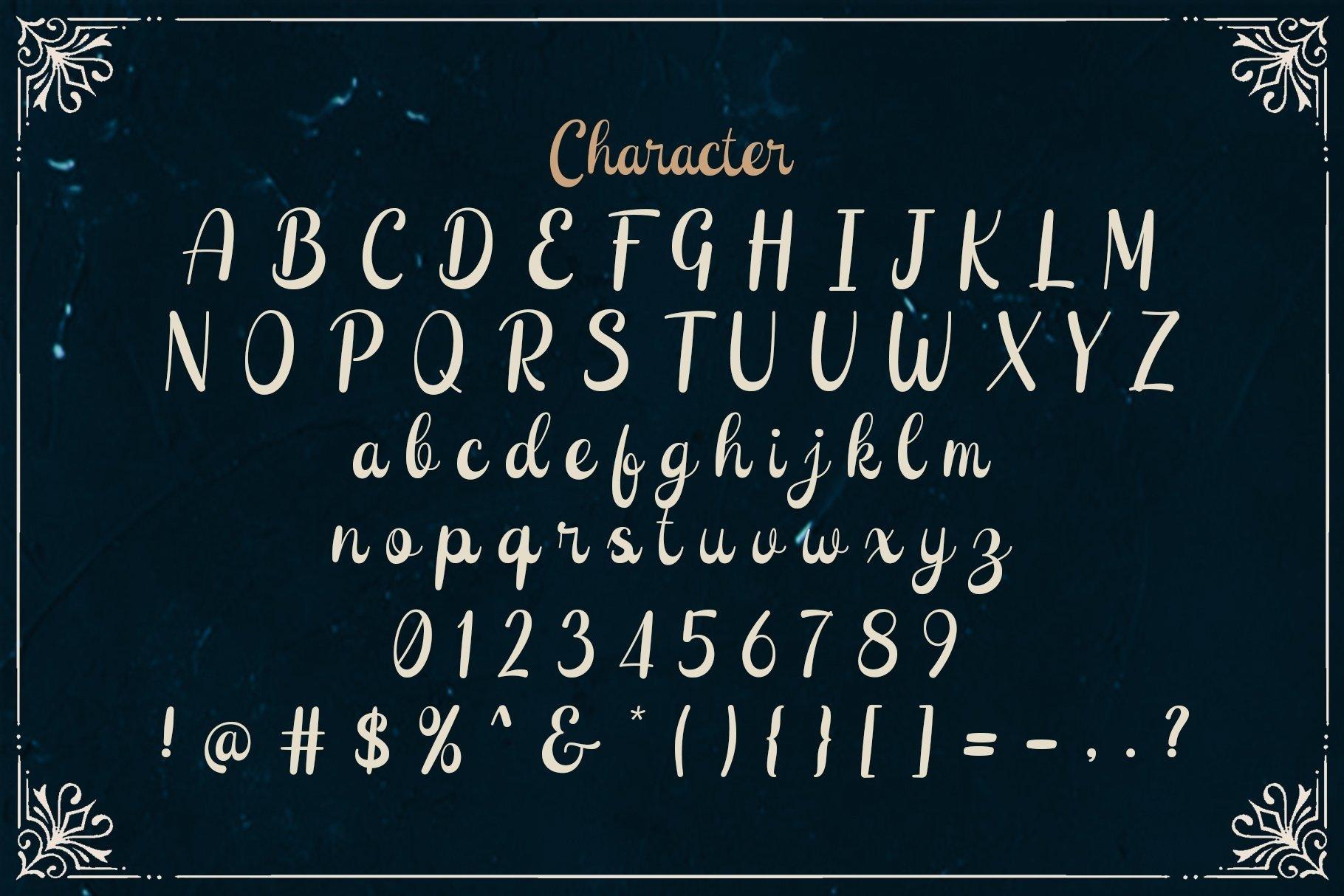 Web Font Sunshine example image 4