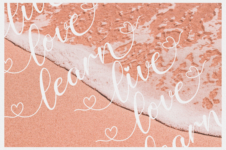 Delima // Modern Calligraphy example image 9
