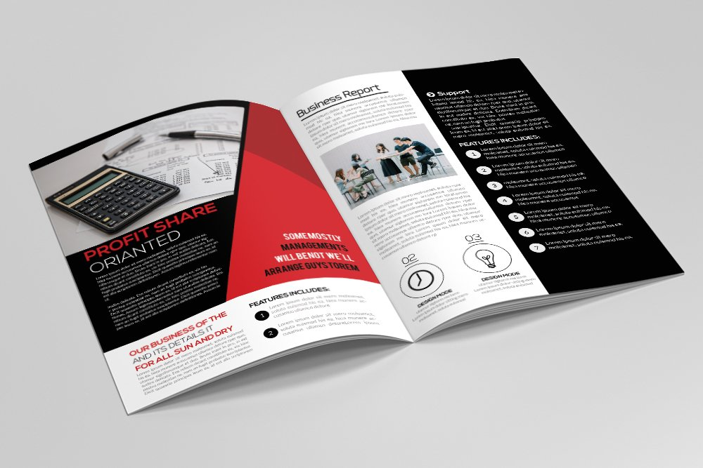Business Corporate Bifold Brochure 16 Pages example image 9