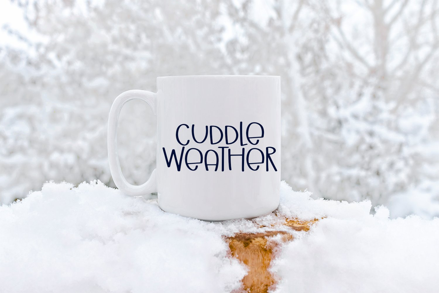 Winter Vibes - A Quirky Hand-Lettered Font example image 3