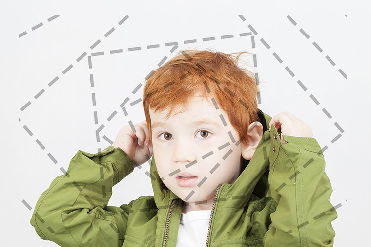 boy in a green jacket example image 1