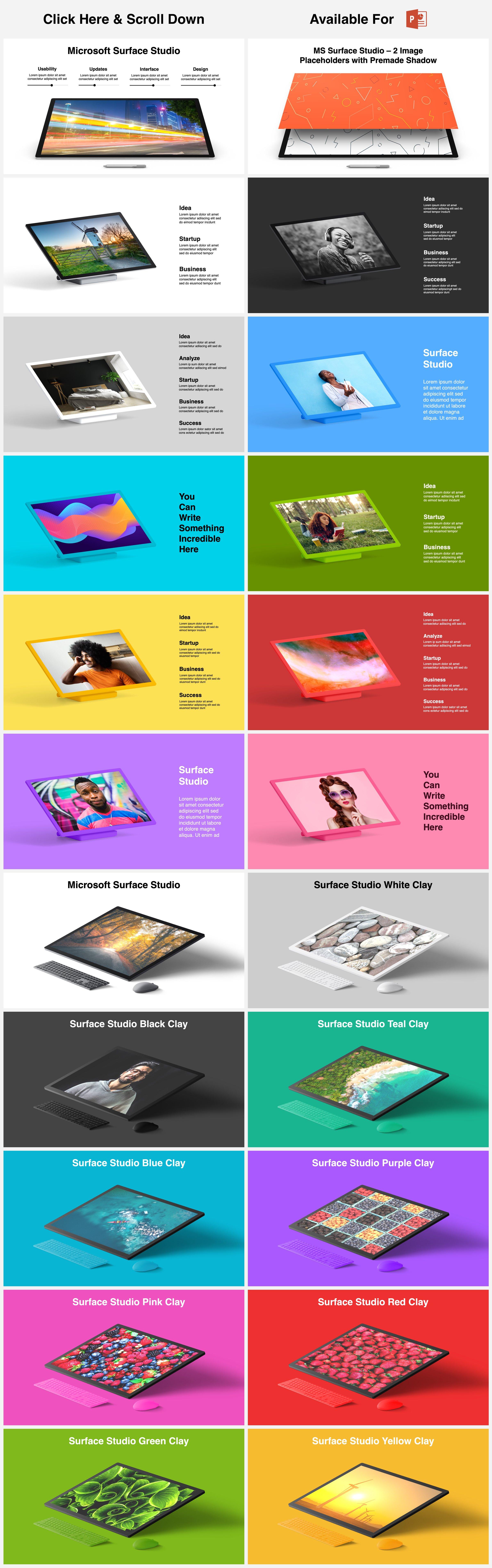 Animated Mockups Presentation Bundle. Infographic Templates. example image 16