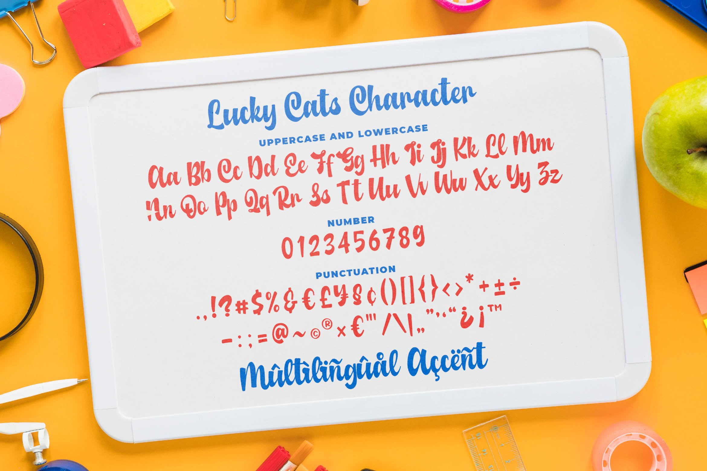 Lucky Cats - Funny Script Font example image 5
