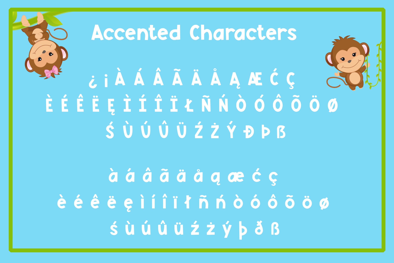Monkey Mayhem - A fun and playful font example image 6