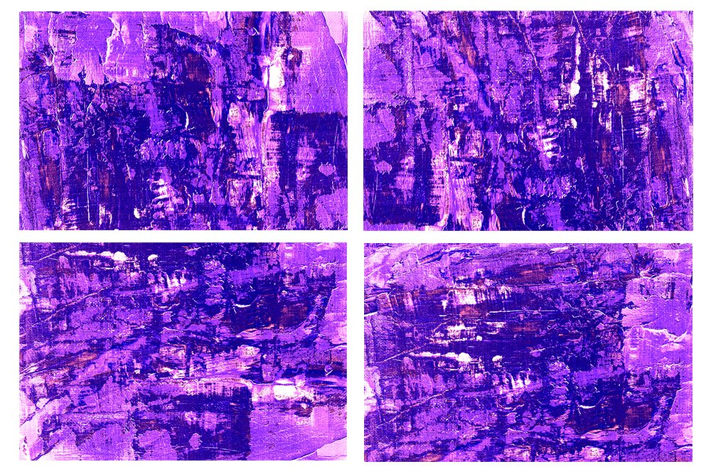 Set of 24 images. Abstract art background. Acrylic painting example image 3