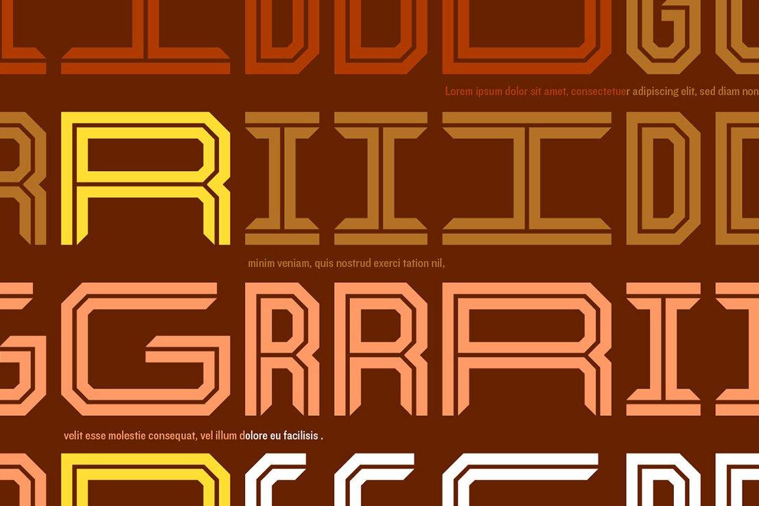 Kickoff Font Family example image 3