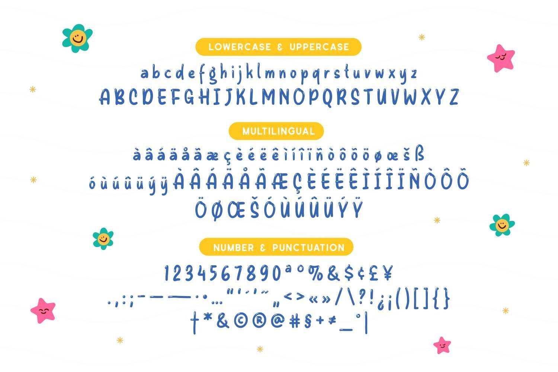 Alfrönies - Fun and Playful Display Typeface example image 5