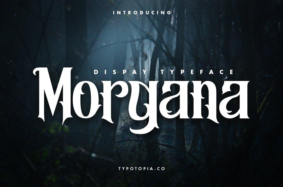 Morgana - Display Font example image 1