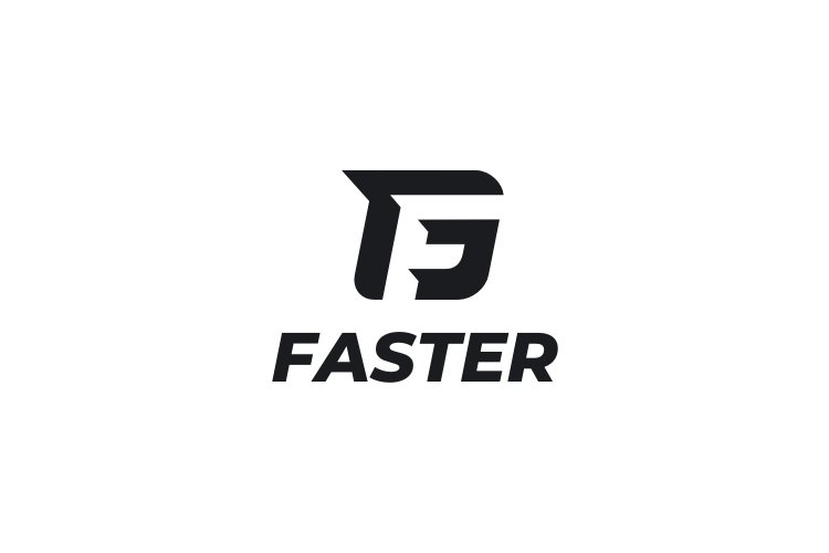 Faster - Letter F Logo example image 3