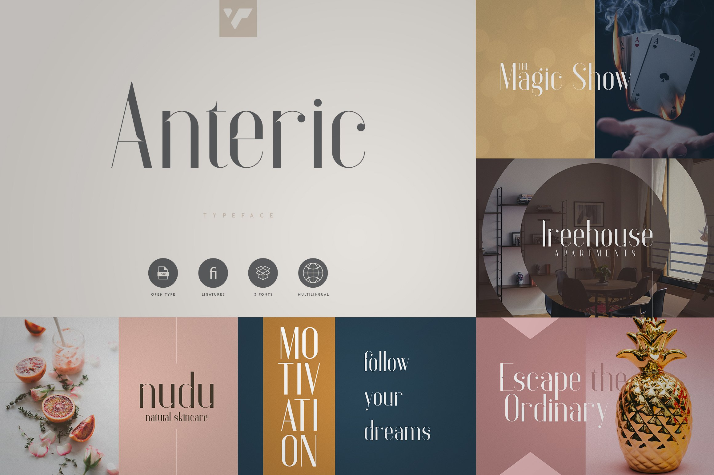 Fantastic Collection - Fonts, Logos example image 7