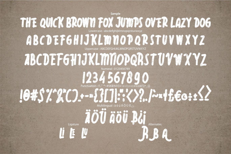 Rebelia | Vintage Typeface example image 5