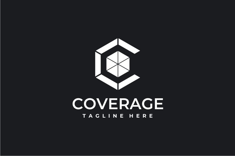 Coverage - Letter C Logo example image 2