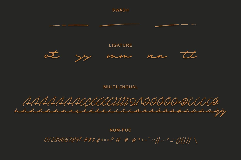 Sandreas - Luxury Signature Font example image 3