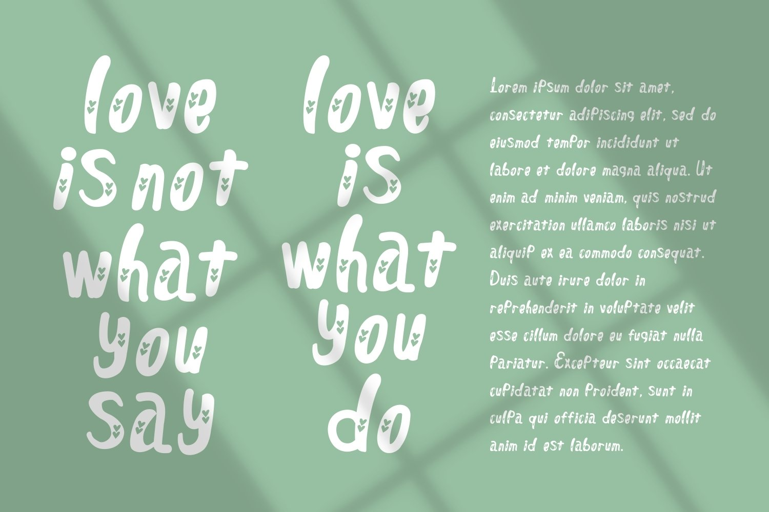 Dillove - Crafted Display Font example image 4