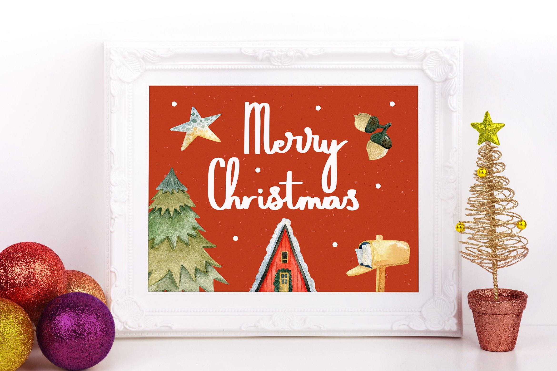 Sweets Holiyayy - Christmas Font example image 3