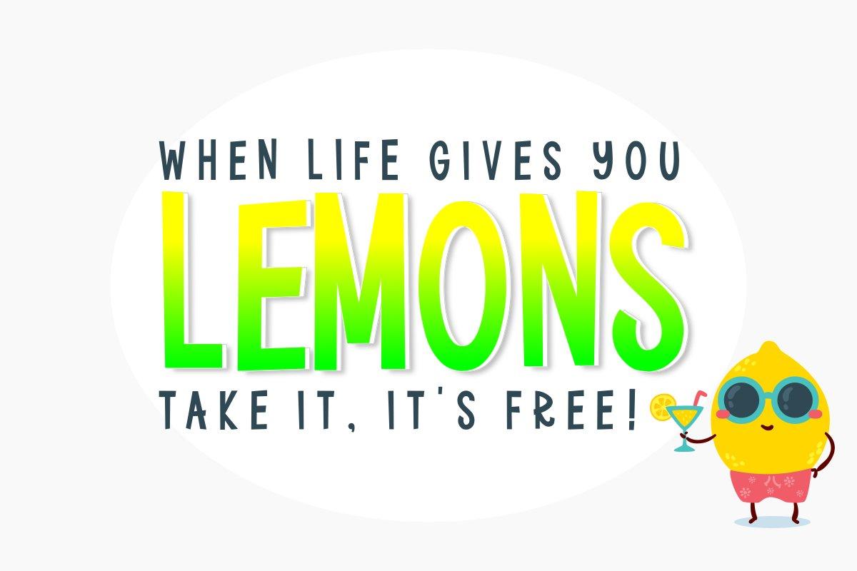 Bigger Lemons example image 2