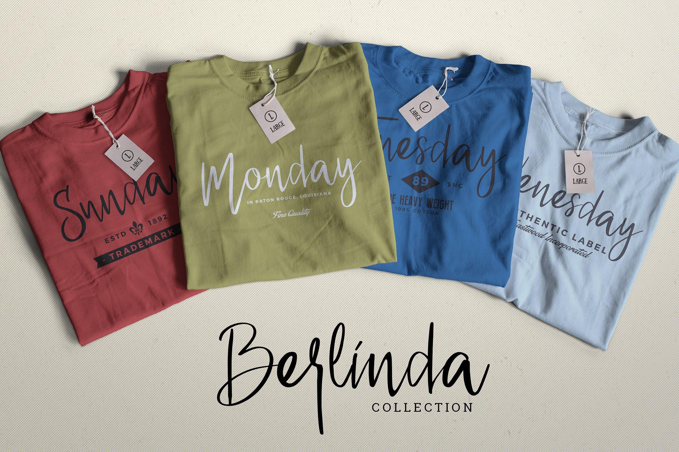 Berlinda - Handwritten Font example image 4