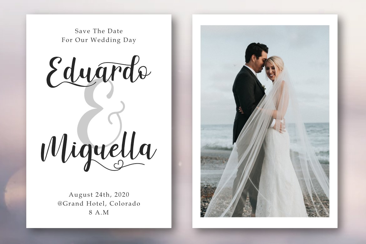 Winstonia | A Modern Calligraphy Font example image 4