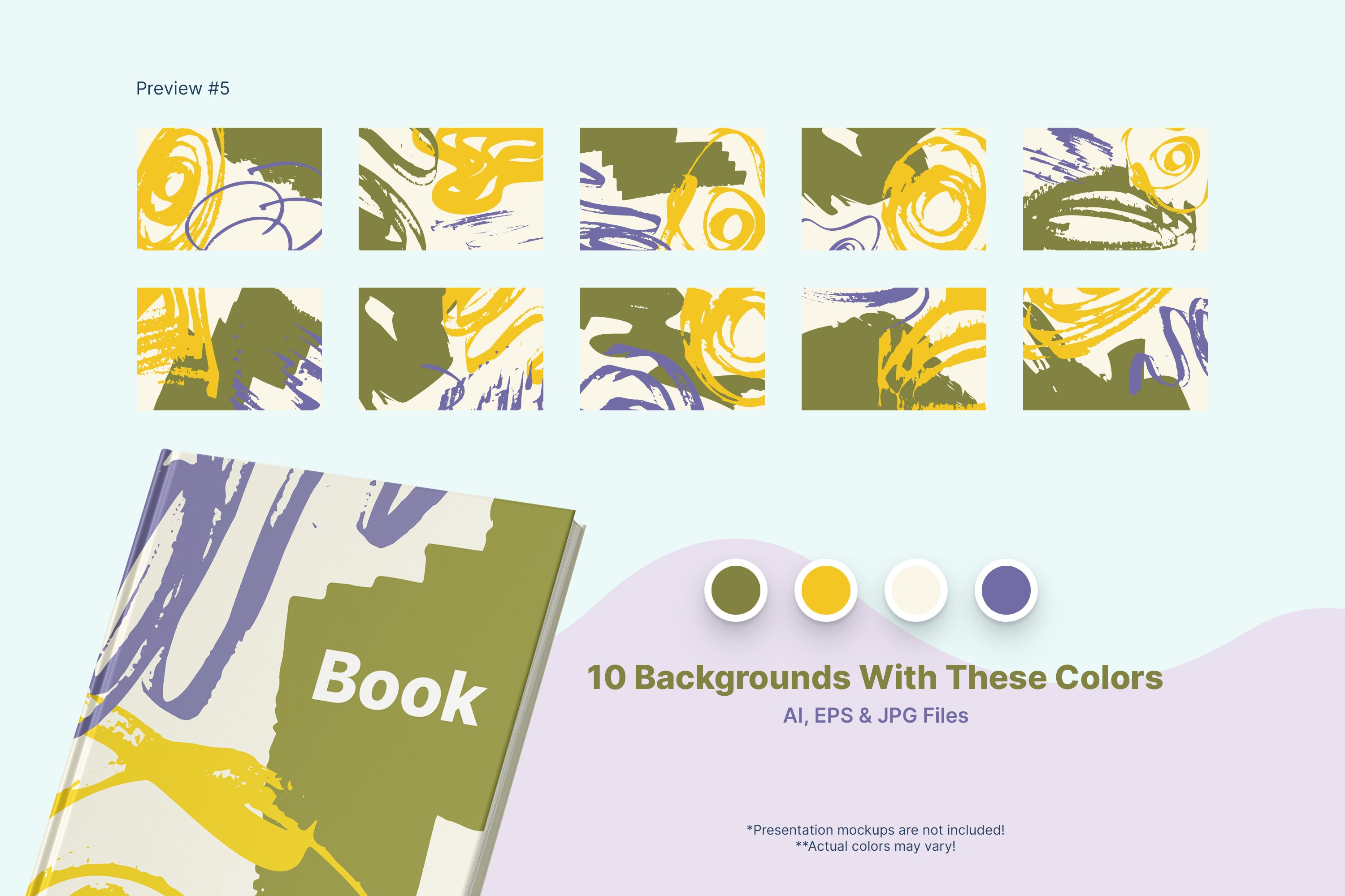 Distressed Vector Backgrounds example image 5
