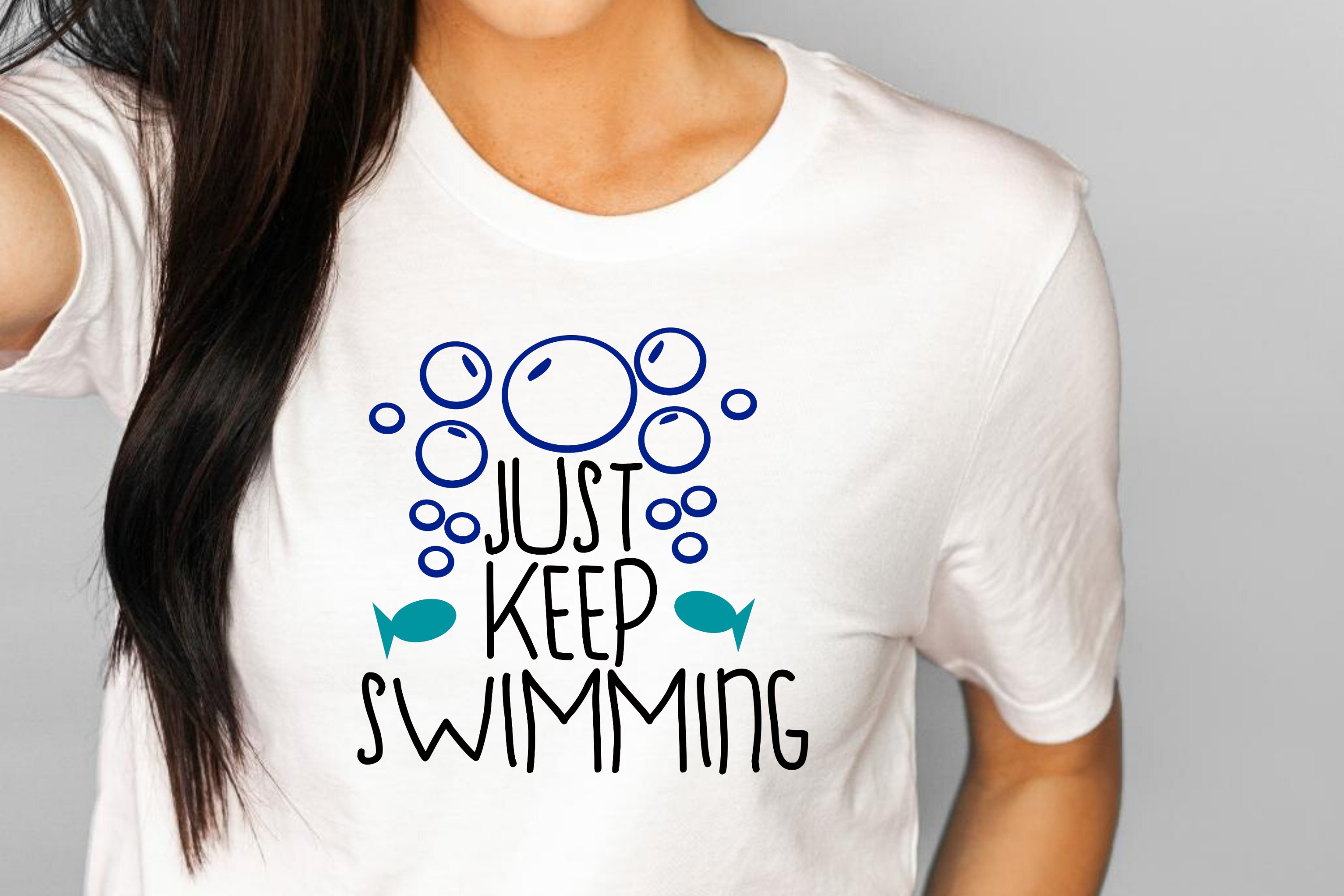 Just Keep Swimming Svg Png Dxf Classroom Decal 551785 Cut Files Design Bundles