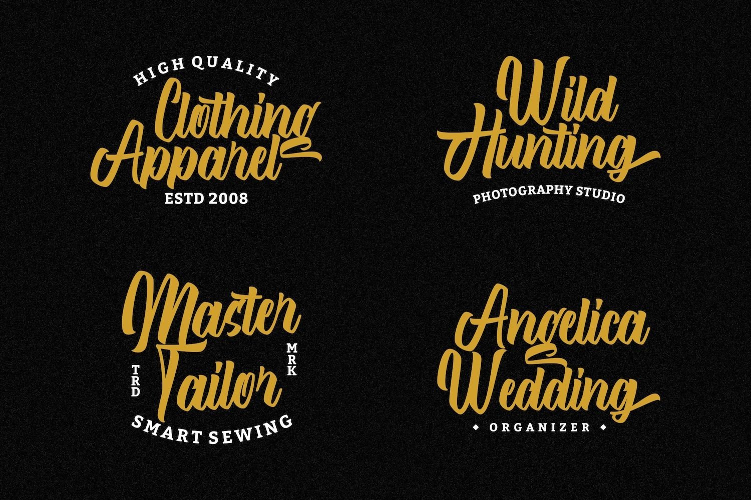 After Breaking - Modern Script Font example image 9