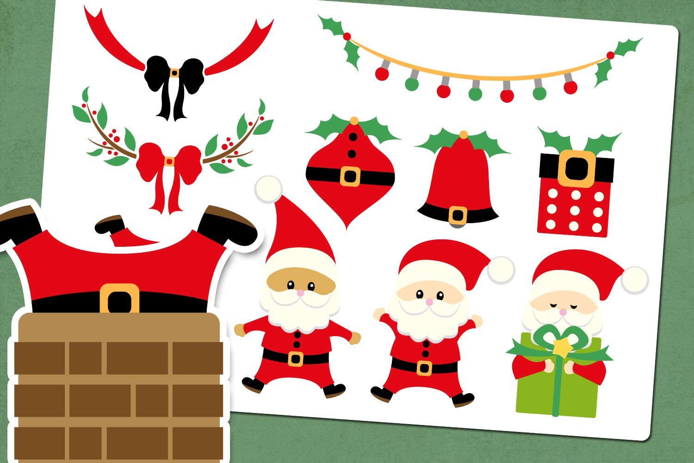 Christmas Santa Illustrations example image 1