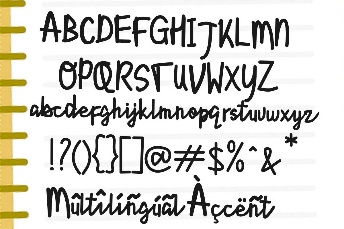Lyonetta Handwriting example image 6